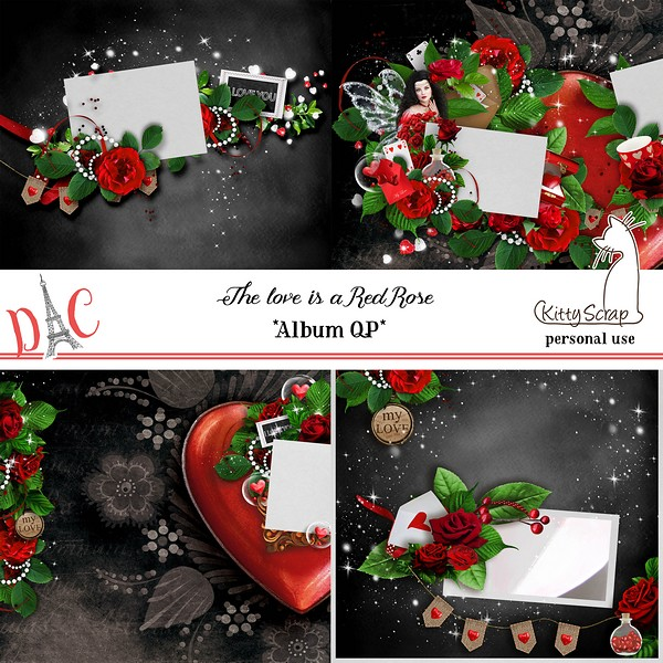 Album QP the love is a red rose de kittyscrap