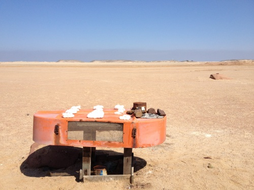 Road to Skeleton Coast...