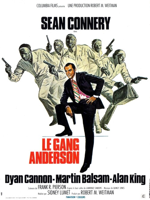 LE GANG ANDERSON - BOX OFFICE SEAN CONNERY 1971