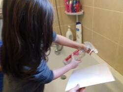 Toiles au papier crépon