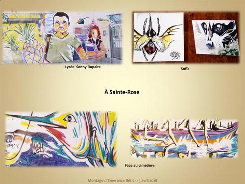 Reproductions de street art