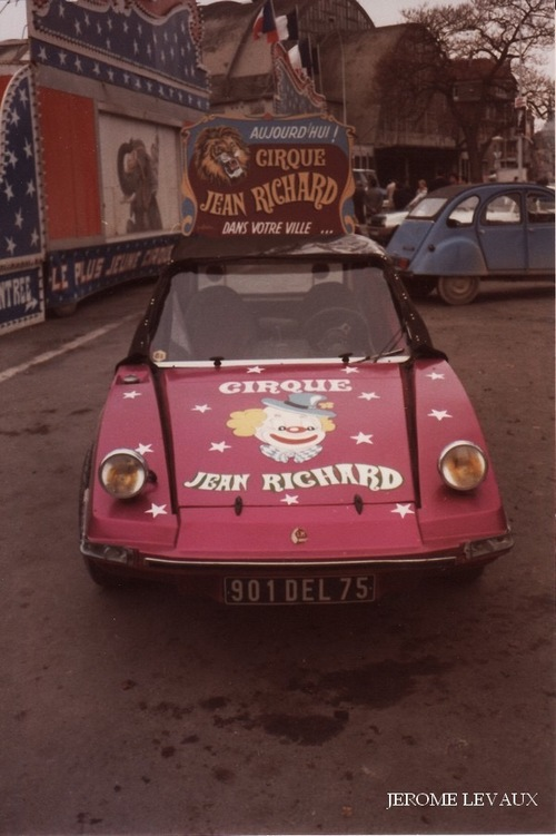 le cirque Jean Richard à Reims en novembre 1981 (3) - photos Jérôme Levaux