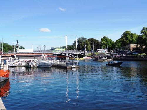 Stockholm: en route vers l'Ile de Djurgärden (photos)