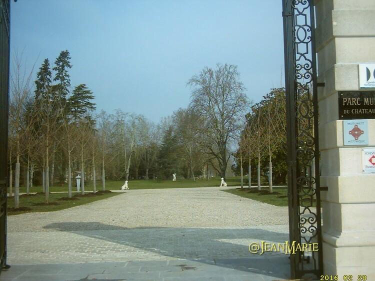 Château et Parc Chavat à Podensac (Gironde). Classés Monuments Historiques en 2006