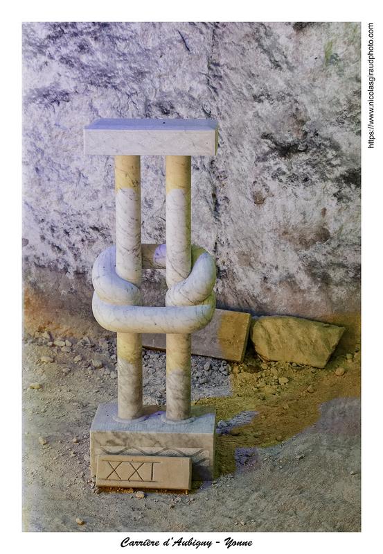 Carrière souterraine d'Aubigny en forterre