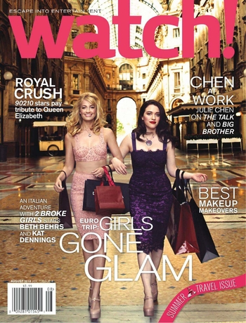 Kat Dennings and Beth-Behrs 2 broke girls watch