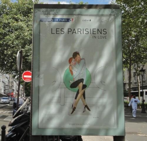 affiche parisien Kanako 3551