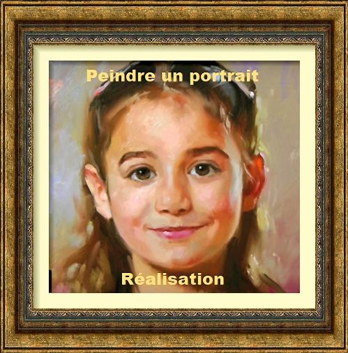 Dessin et peinture - vidéo 2636 : Apprendre à réaliser un portrait à la peinture à l'huile 2.
