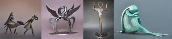 Sculptures de J-P Augier