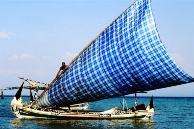 Sur la mer de Java