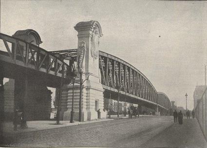 le pont Saint-Ange 1903