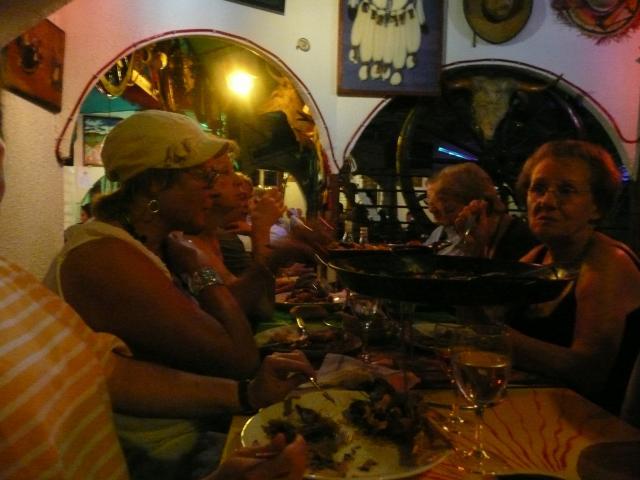 Samedi 30 août 2008, menu mexicain et soirée dansante au restaurant El Rancho