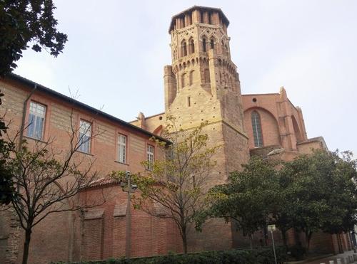 Toulouse: autour de la cathédrale Zaint Etienne (photos)