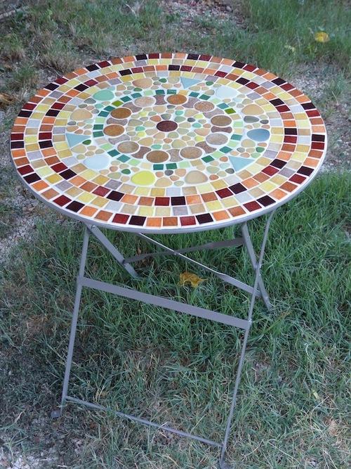 Tables mosaïque
