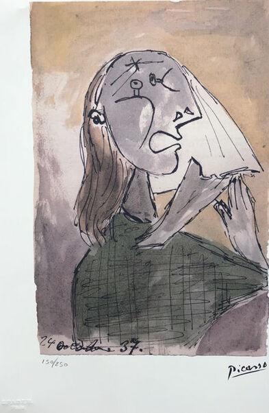 04 - Femmes qui pleurent - chez Picasso