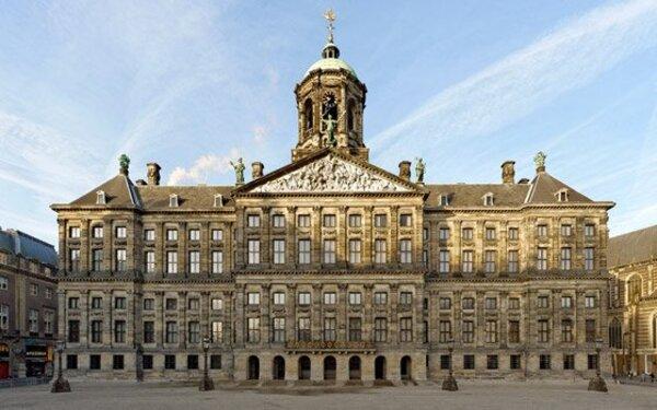 Amsterdam / La place du Dam