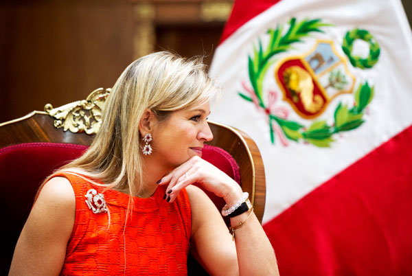 Maxima au Pérou