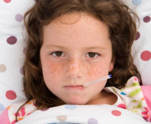 Un enfant malade ça croit que....