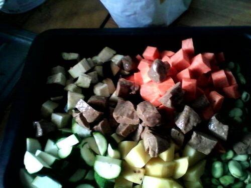 Seitan et Légumes Tikka Masala {Vegan}