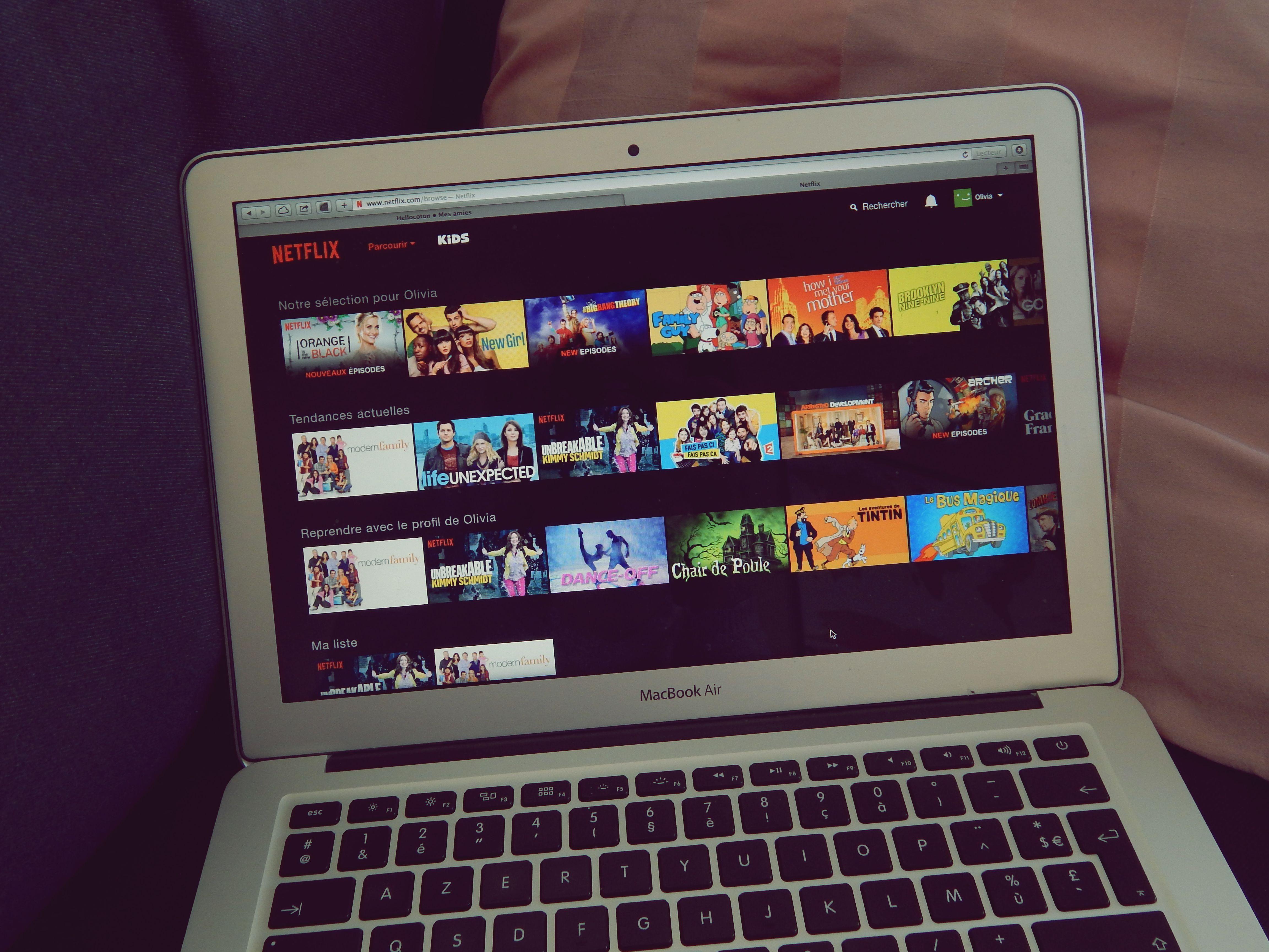 Netflix ou ce qui a réveillé la série addict !