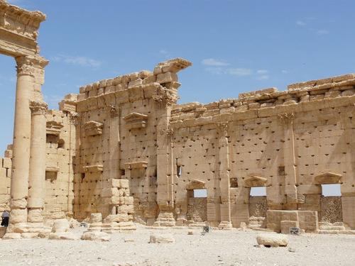 Palmyre; le camp de Diocletien;