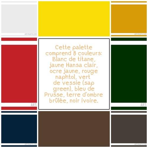 Dessin et peinture - vidéo 3358 : Comment peindre un sous-bois en automne ? huile ou acrylique.