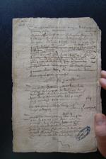 1608. Rolle et menu des rentes dues à la St-Gilles et à Nouel