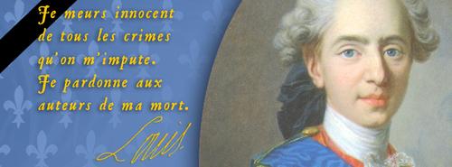 Mort du Roi Louis XVI....