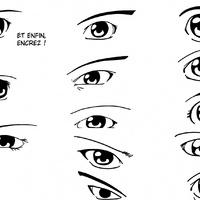 Dessiner Les Yeux Apprendre La Bande Dessinee Et Le Manga