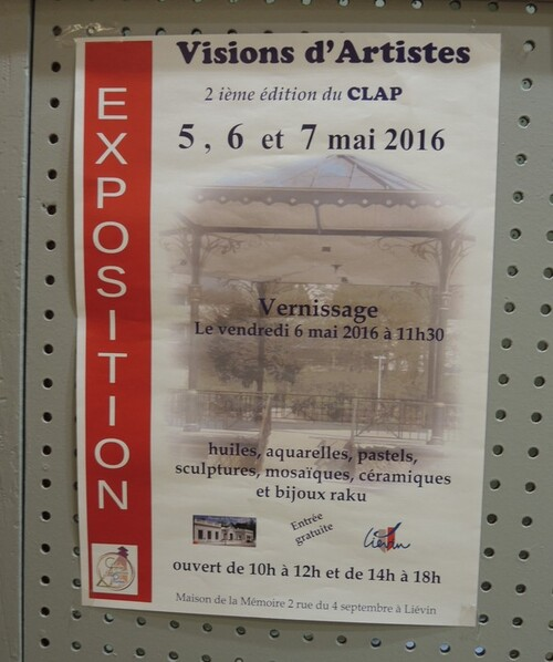 FESTI'ARTISTES à VENDIN LE VIEIL ce week end-suite