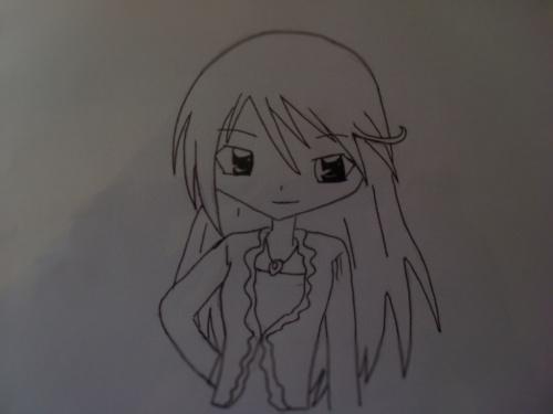 mon dessin de fubuki