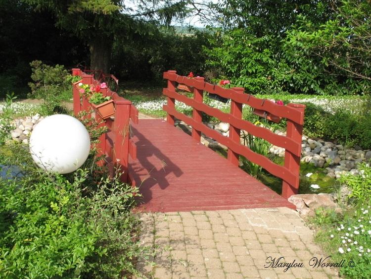 Beblenheim (68) : Promenade dans le parc