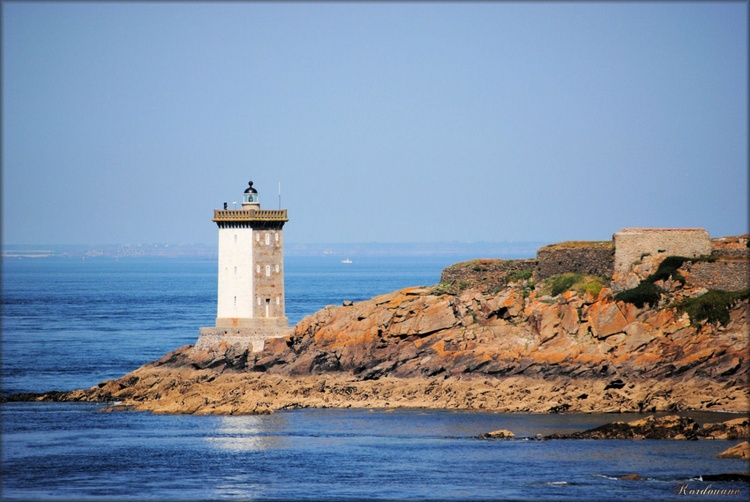 Photo du phare du Kermovan en Bretagne