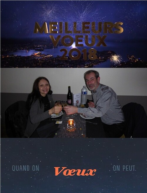Nos vœux pour 2018