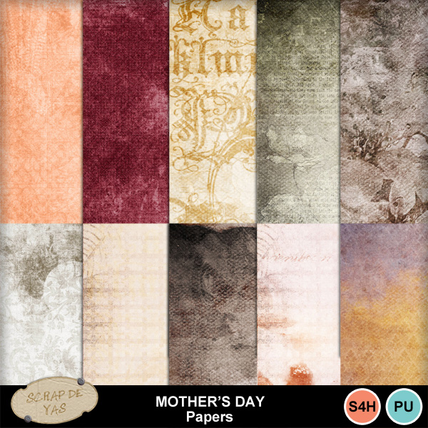 Mother's day.... May 10th / 10 mai Pv0225