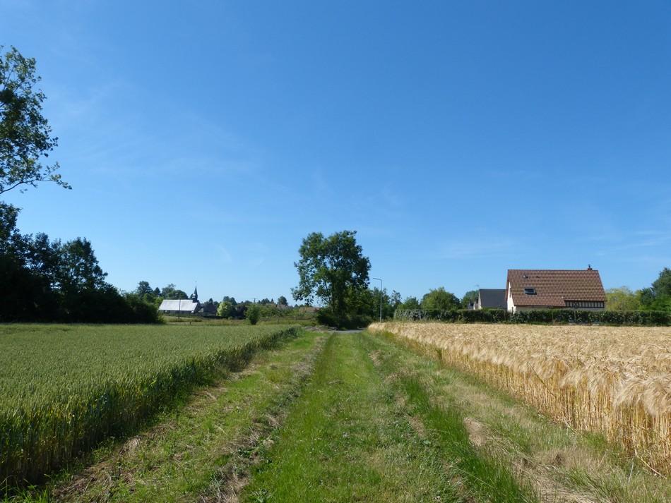 Sous la Picardie, la Normandie