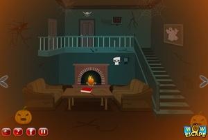 Jouer à Scary halloween house escape 6