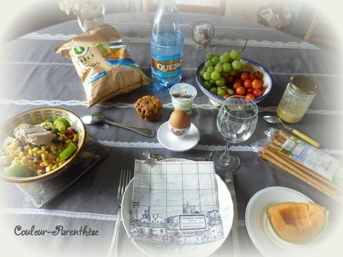 Les petites salades d'été de Couleur-Parenthèse!