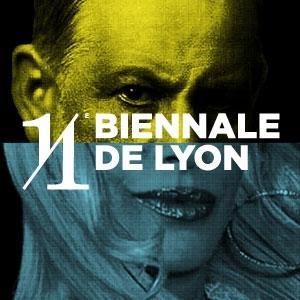 Une des affiches de la XIème Biennale d'Art Contemporain de Lyon créée par Erick Beltrán