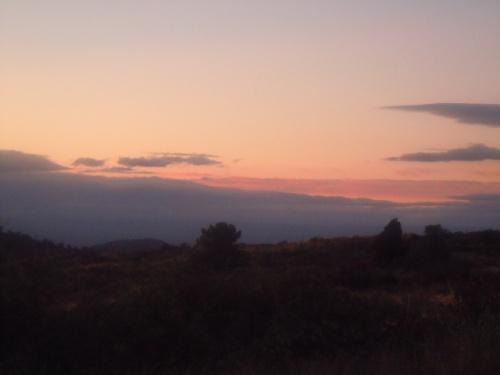 Des couchers de soleil
