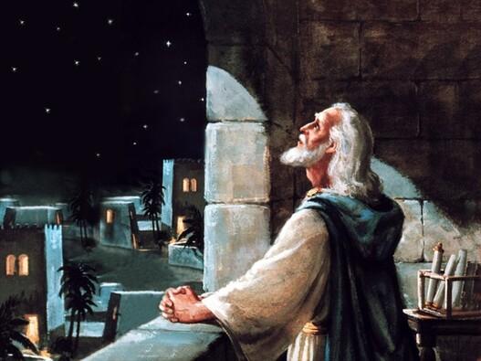 priere daniel jerusalem fenetre