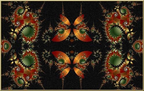 Fractale :  Butterfly  2604
