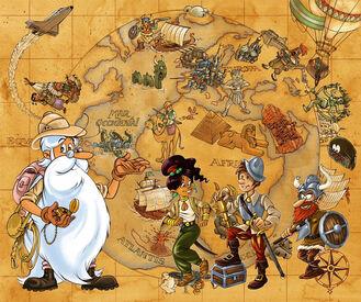 Histoire : Pistes sur les grandes découvertes
