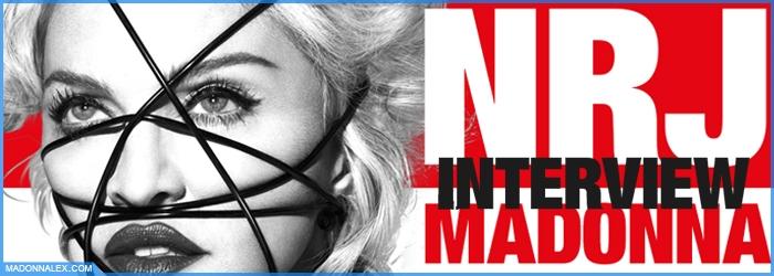 Madonna NRJ Interview 30 Janvier 2015