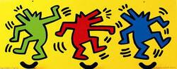 L'album des bruits: les vaches de la cow parade et les chiens de Keith Haring