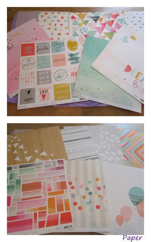 "Clique Kits : ""Funfetti"" October kit"