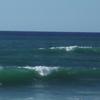 Surfeur plage des Sables d'Or à Anglet