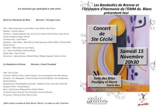 Concert ste Cécile OH / Banda