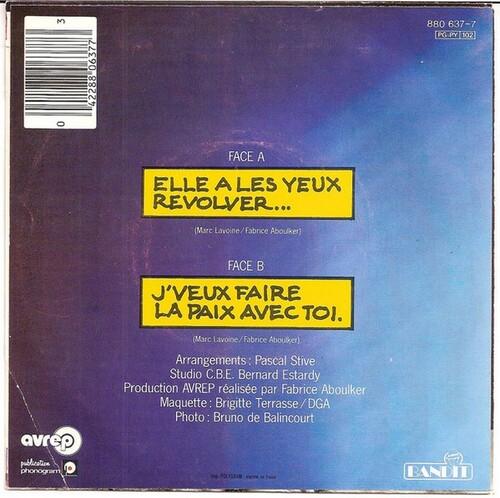Marc Lavoine - Elle A Les Yeux Revolver 02