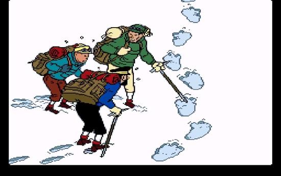 Tintin au tibet ss